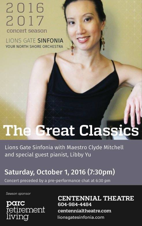 Libby - The Great Classics 2016 ~ 2017 Concert
